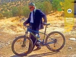 سید اعلم حبیبی شیراز سایکل توریست انجمن دوچرخه سواری آشتی