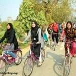 زنان دانشجو در قاهره کشور مصر