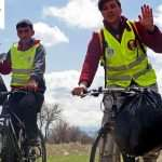 حمل زباله ها با دوچرخه