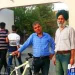 توریست هندی در شهر سلیمانیه