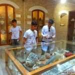 نمایشگاه آثار سنگی قلات