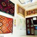 نمایشگاه قالی و جاجیم های سنتی - قلعه ی هه ولیر